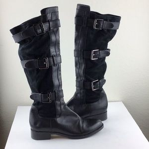 Cole Haan I Nike Air Avalon Buckle Boots